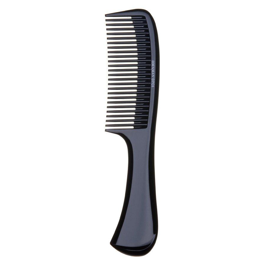 Denman DPC6 Rake Comb ─ Black