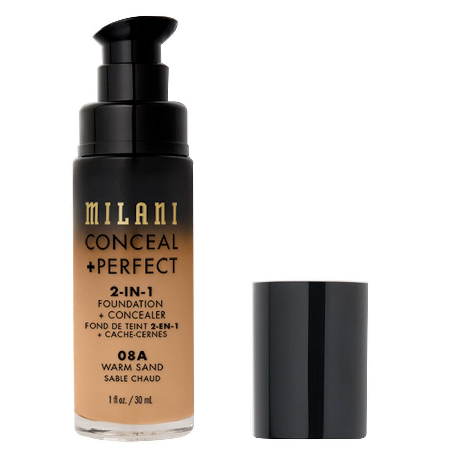 Milani Cosmetics Conceal+ Perfect 2-In-1 Foundation + Concealer 30 ml ─ Warm Sand
