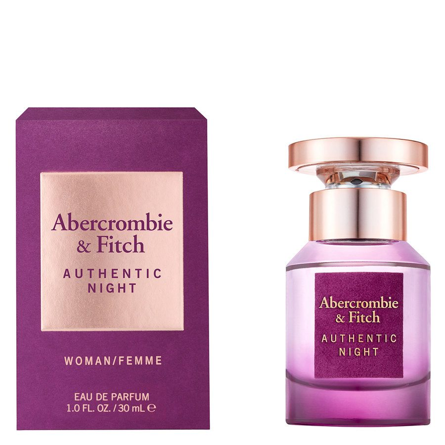 Abercrombie & Fitch Authentic Night Eau De Parfum 30 ml