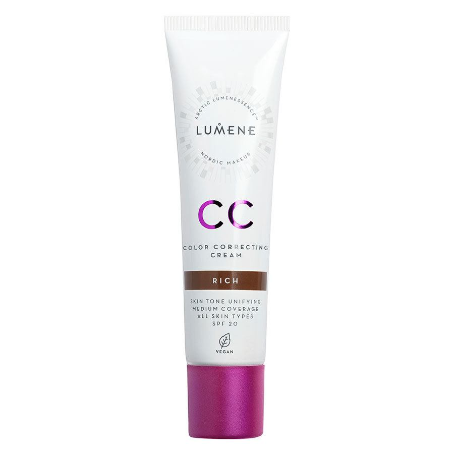 Lumene CC Color Correcting Cream SPF20 30 ml ─ Rich