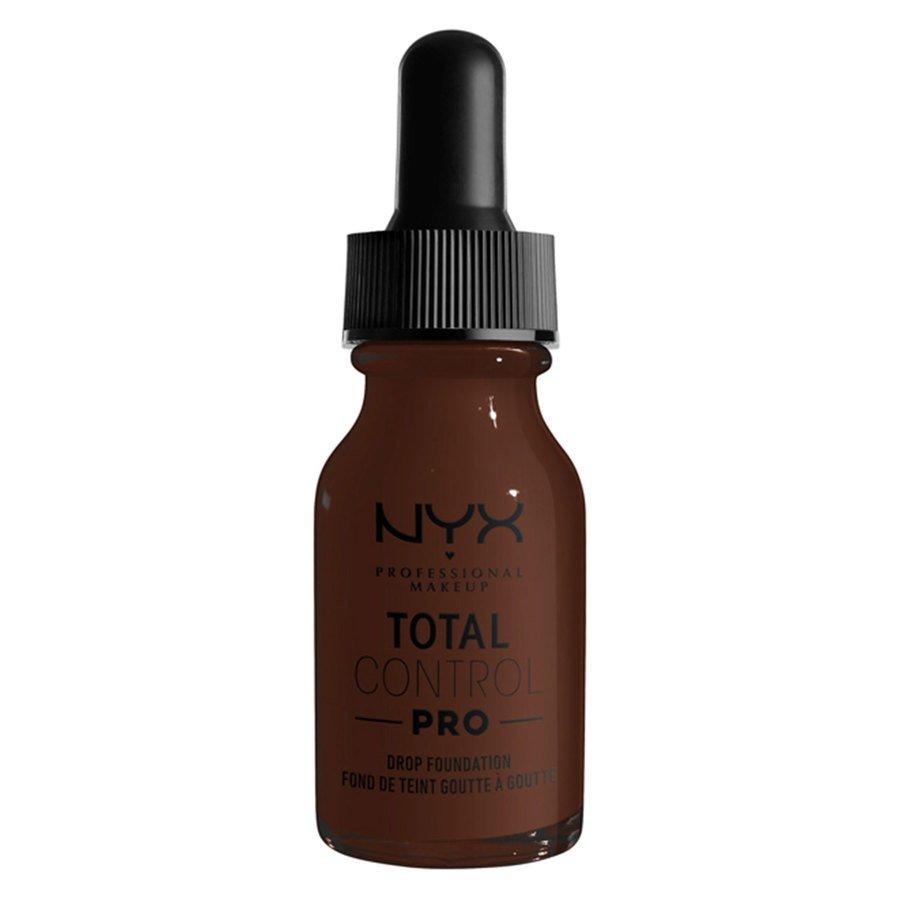 NYX Professional Makeup Total Control Pro Drop Foundation 13 ml ─ Deep Ebony