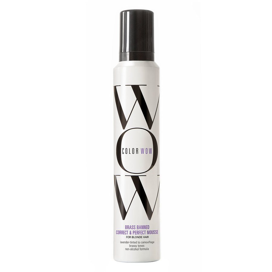 Color Wow Brass Banned Correct & Perfect Mousse For Blondes 200 ml