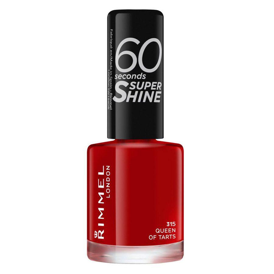 Rimmel London 60 Seconds Super Shine Nail Polish 8 ml ─ #315 Queen Of Tarts