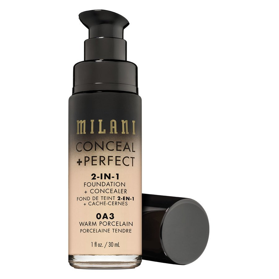 Milani Cosmetics Conceal + Perfect 2-In-1 Foundation + Concealer 30 ml – Warm Porcelain