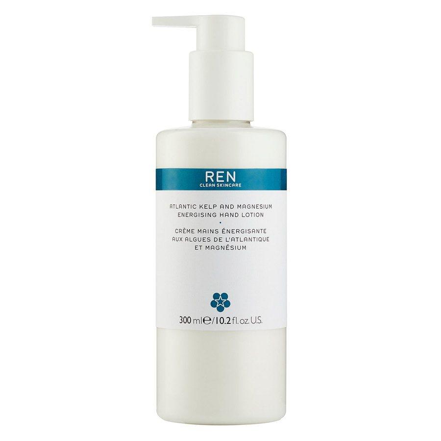 REN Clean Skincare Atlantic Kelp And Magnesium Energising Hand Lotion 300 ml