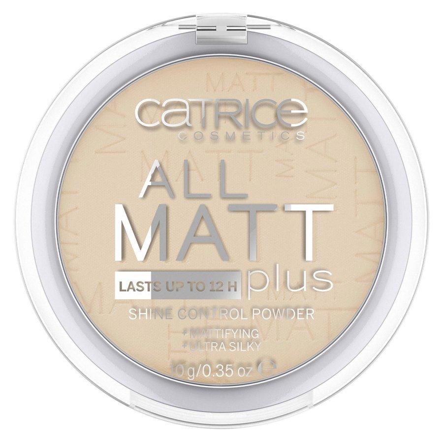 Catrice All Matt Plus Shine Control Powder 10 g – Honey Beige 028