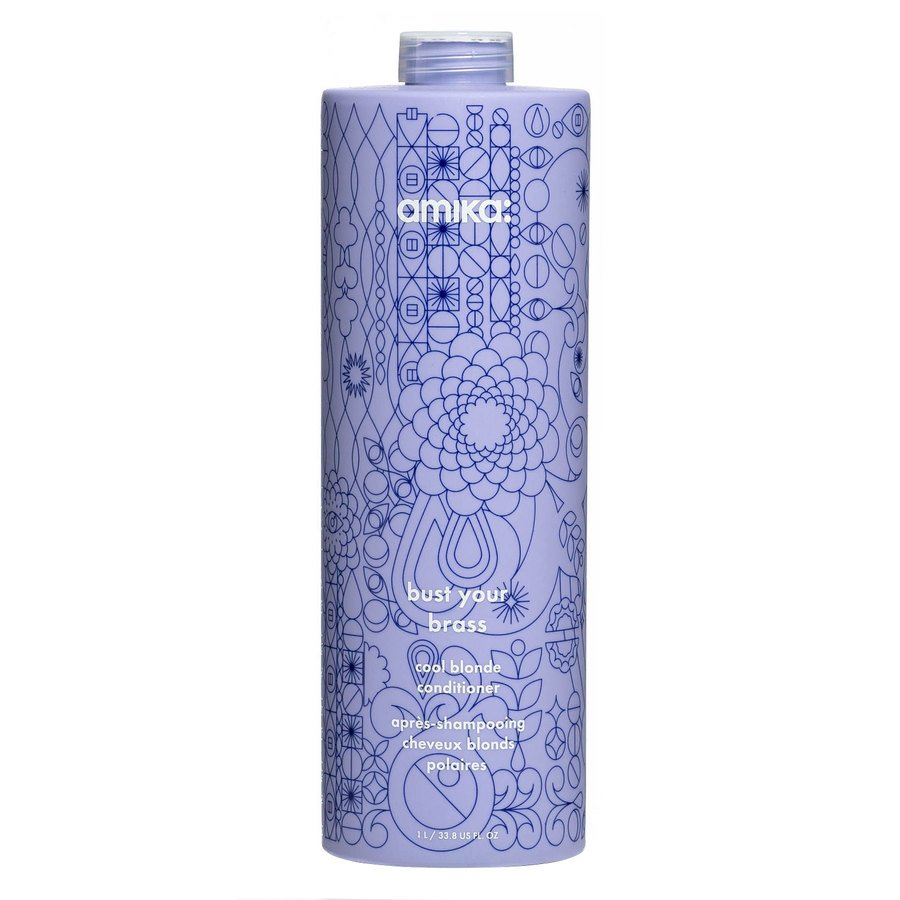 Amika Bust Your Brass Cool Blonde Conditioner 1 000 ml