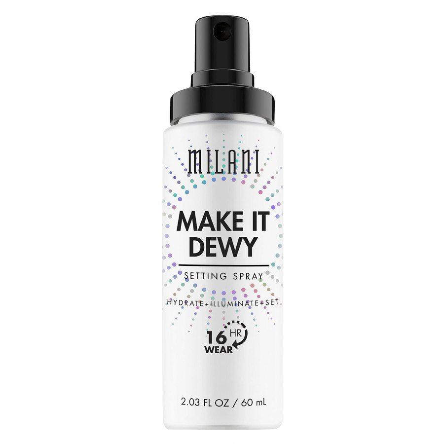 Milani Make It Dewy 3-In-1 Setting Spray Hydrate + Illuminate + Set