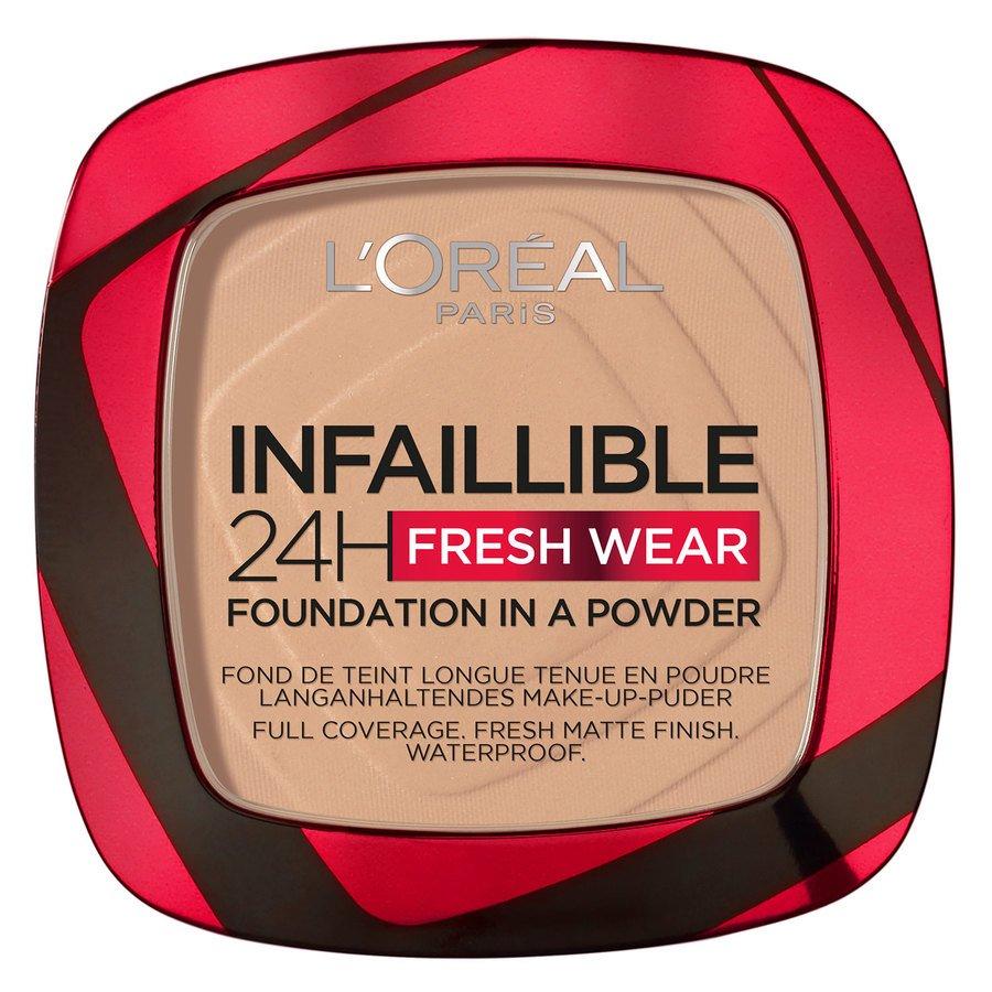 L'Oréal Paris Infaillible 24H Fresh Wear Foundation In A Powder 9 g – Vanilla
