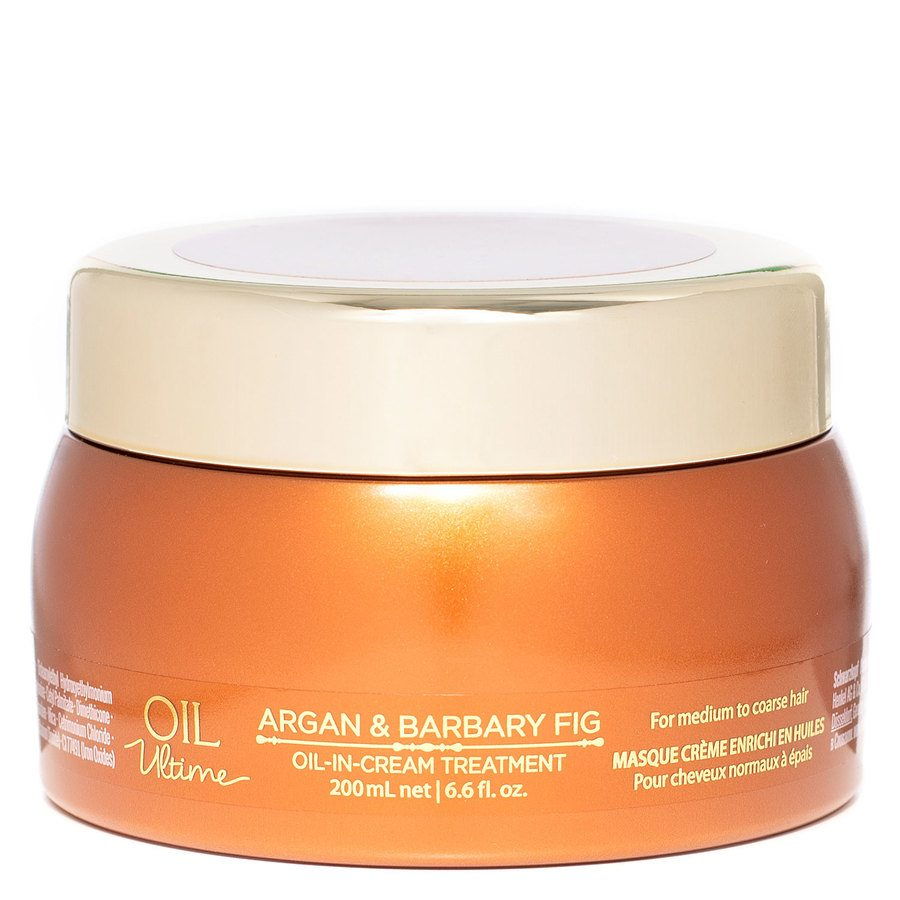 Schwarzkopf Oil Ultime Argan & Barbary Fig Oil-In-Cream Treatment 200 ml