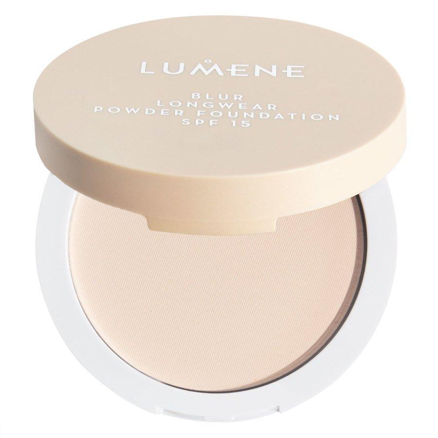 Lumene Blur Longwear Powder Foundation SPF 15 Soft Honey 10g