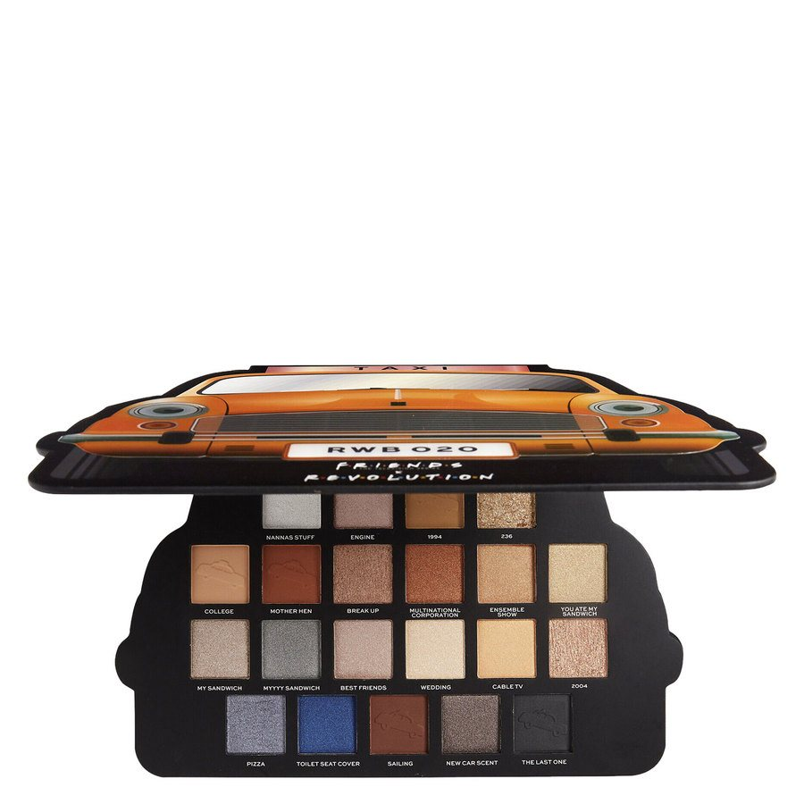 Makeup Revolution X Friends Take A Drive Shadow Palette 21 x 1,2 g