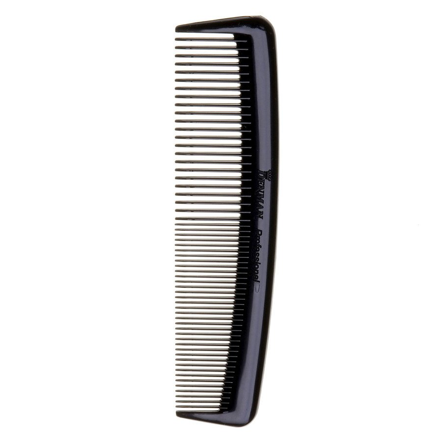 Denman D27 Pocket Comb ─ Black