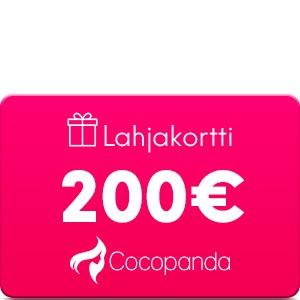 Lahjakortti –  200 €