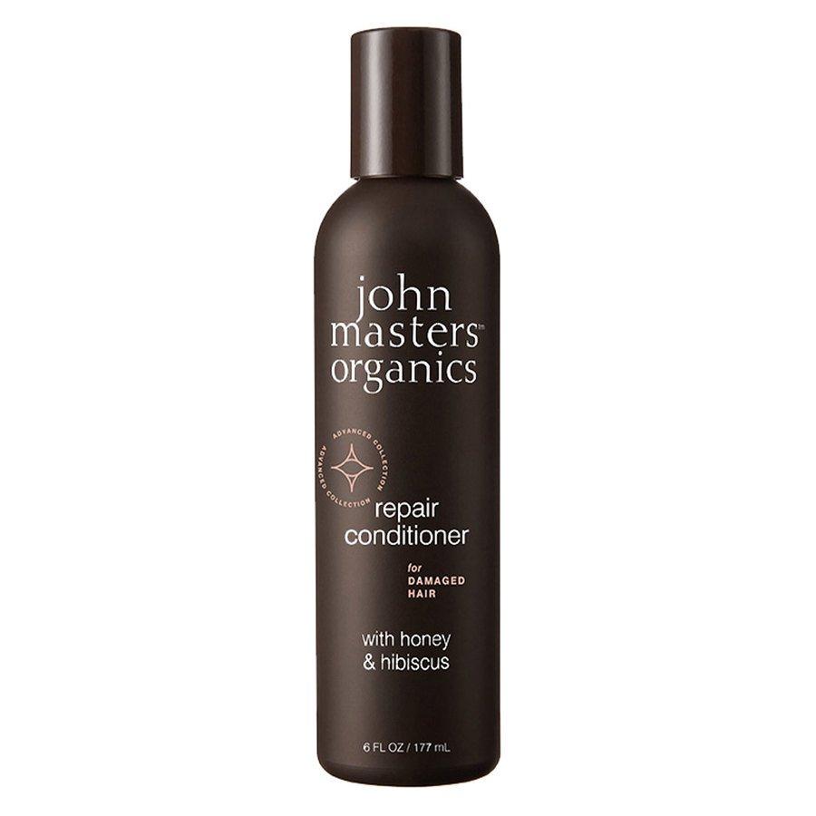 John Masters Organic Repair Conditioner For Damaged Hair With Honey & Hibiscus 177 ml