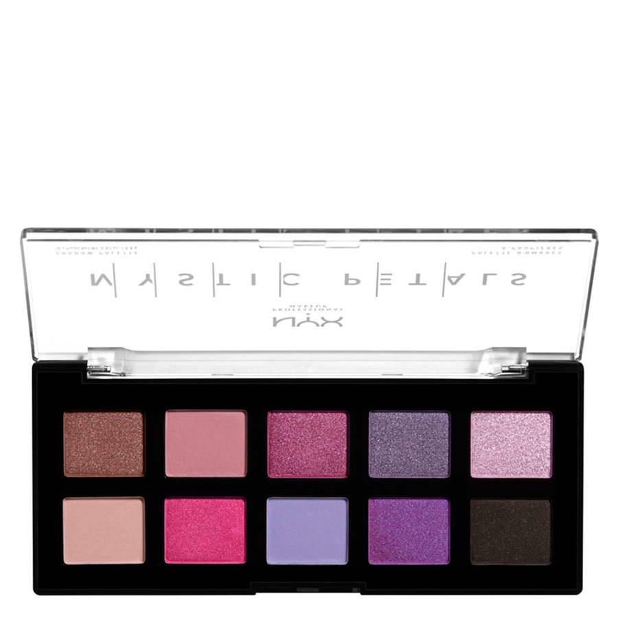 NYX Professional Makeup Mystic Petals Shadow Palette 10 x 0,8 g - Midnight Orchid