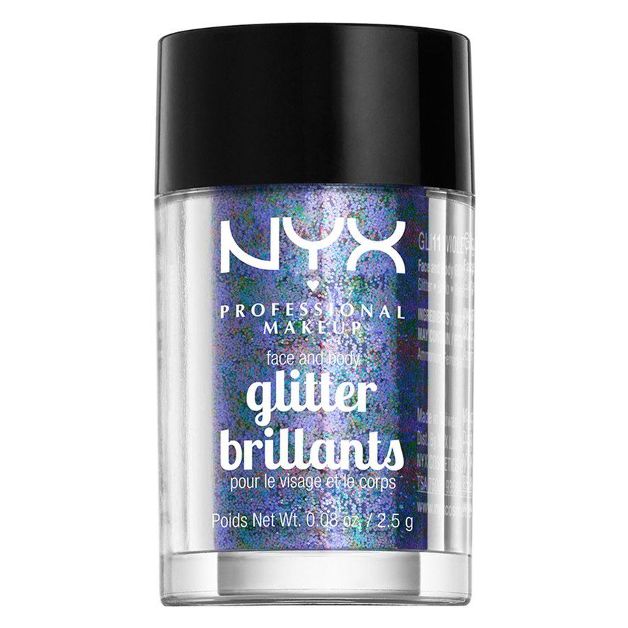 NYX Professional Makeup Face And Body Glitter Brillants 2,5g – Violet GLI11