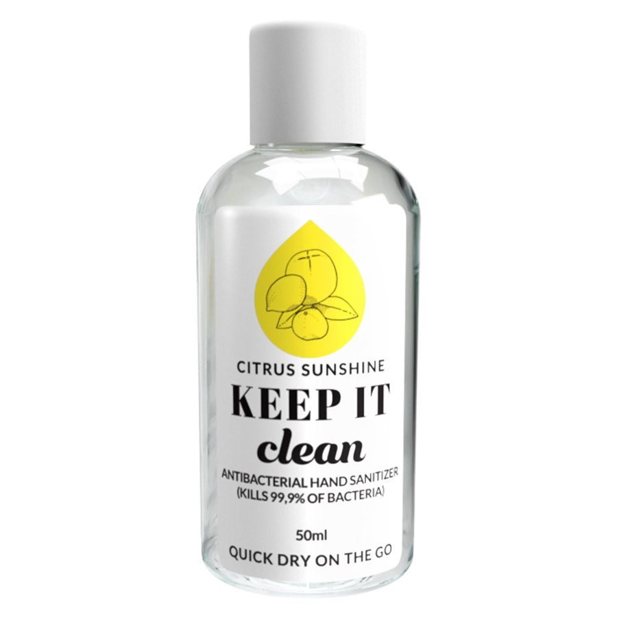 Keep It Clean Citrus Sunshine Antibacterial Hand Sanitizer 50 ml