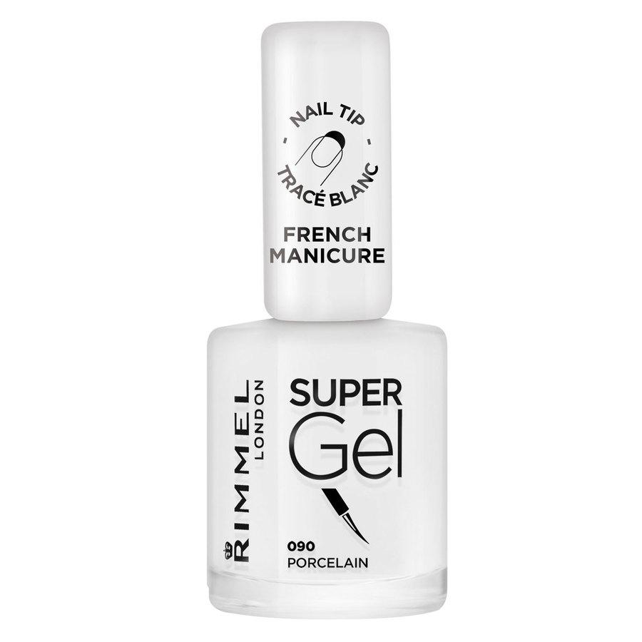 Rimmel London Super Gel Nail Polish 12 ml ─ #090 Porcelain