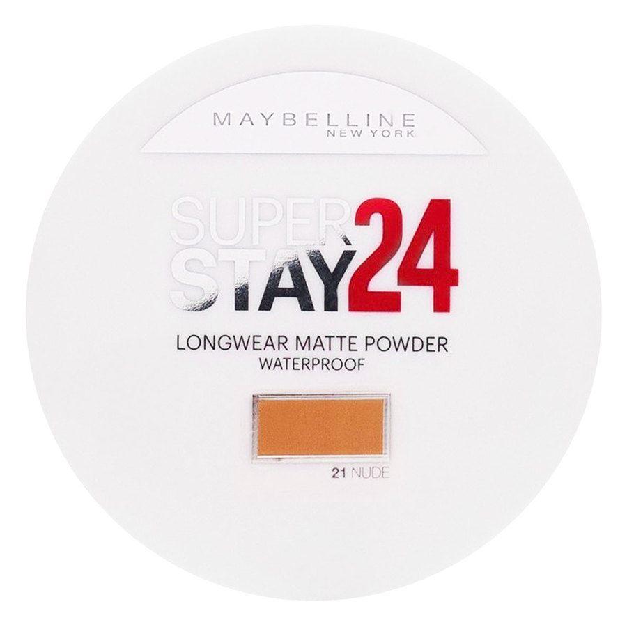 Maybelline Superstay 24h Longwear Matte Powder Waterproof –Nude 021