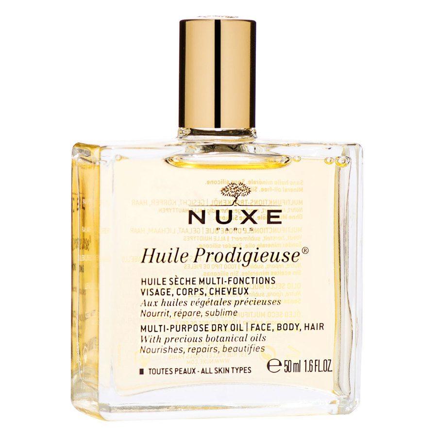 NUXE Huile Prodigieuse Multi-Purpose Dry Oil Face, Body, Hair 50 ml
