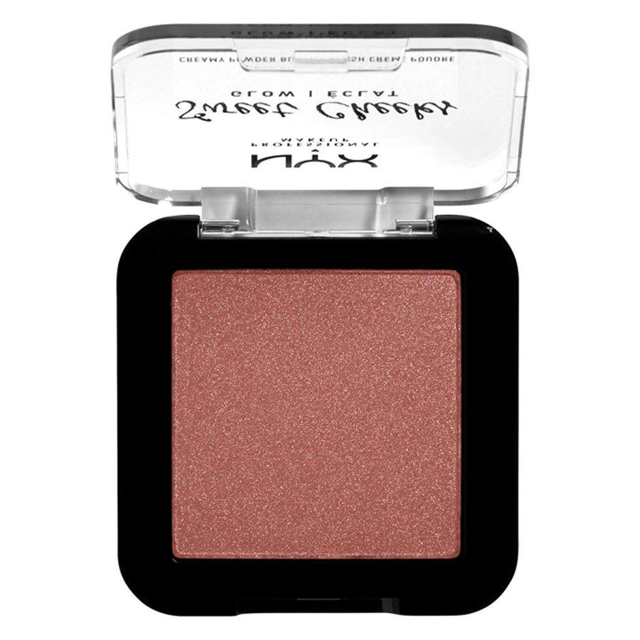 NYX Professional Makeup Sweet Cheeks Creamy Powder Blush Glowy 5 g - Totally Chill