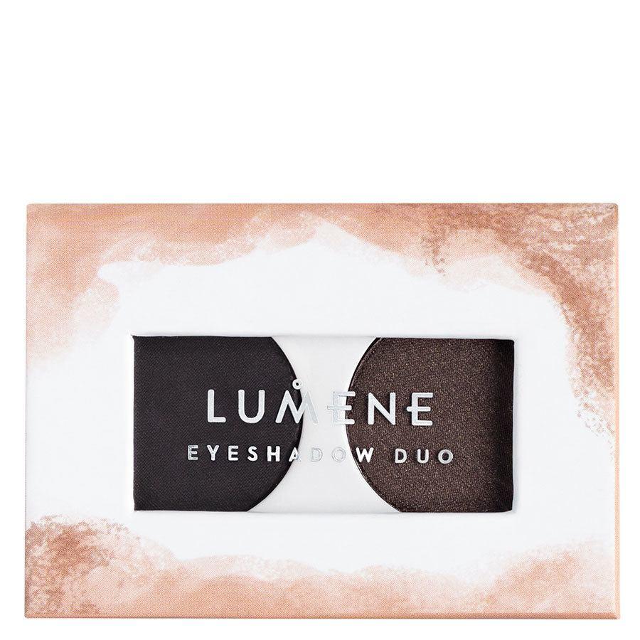 Lumene Bright Eyes Eyeshadow Duo 3,2 g ─ 6 Polar Night