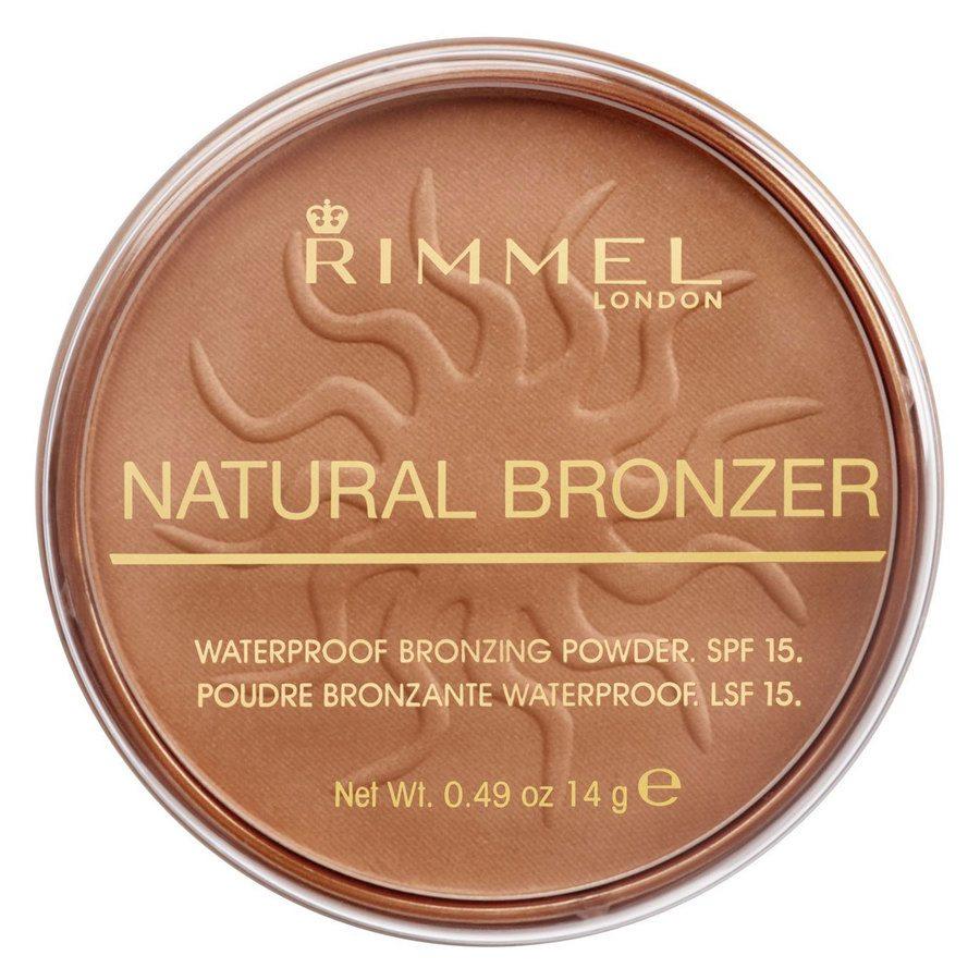 Rimmel London Natural Bronzer 14 g ─ Sunlight