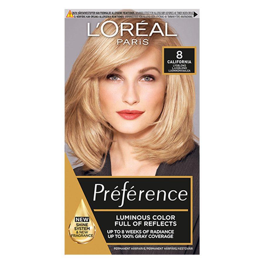 L'Oréal Paris Préférence Core Récital - 8.0