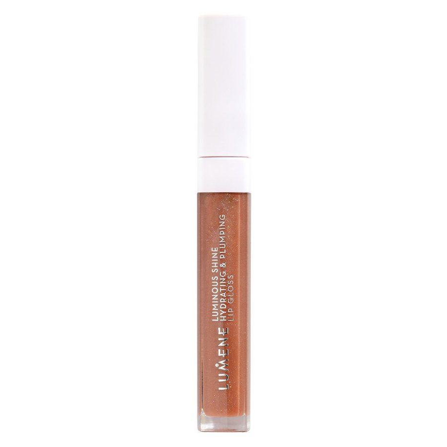 Lumene Luminous Shine Hydrating & Plumping Lip Gloss 5 ml – 2 Warm Nude