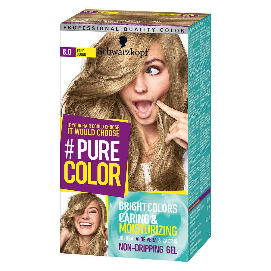 Schwarzkopf Pure Color 142 g ─ 8.0 True Blond