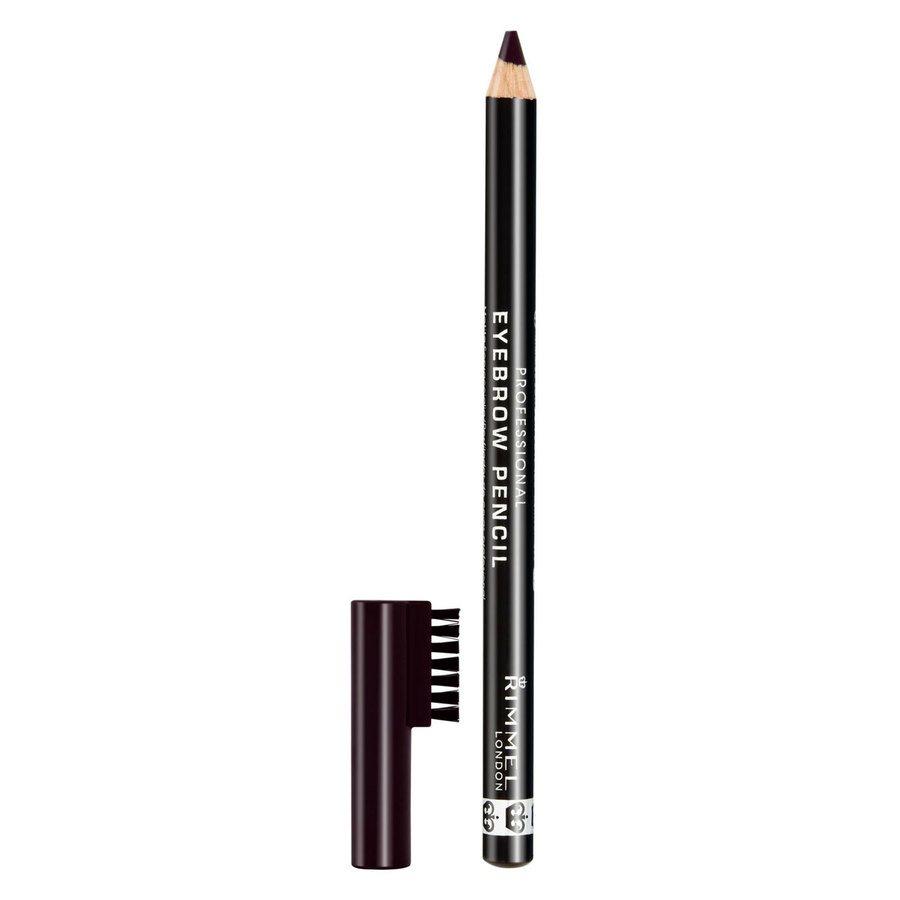 Rimmel London Professional Eyebrow Pencil 1,4 g ─ #004 Black Brown