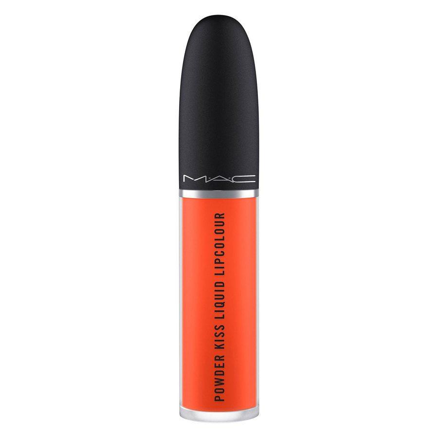 MAC Cosmetics Powder Kiss Liquid Lipcolour 10 Resort Season 5ml