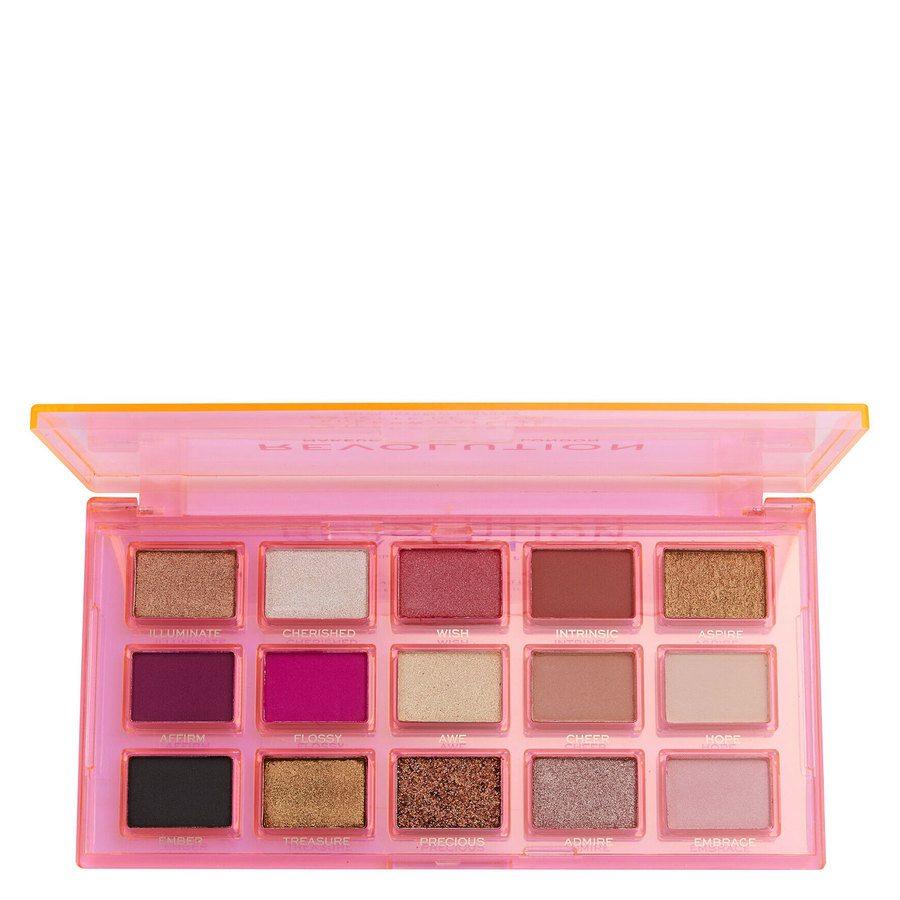 Revolution Beauty Makeup Revolution Reflective Eye Shadow Palette Sugar Ray 15 x 0,75g