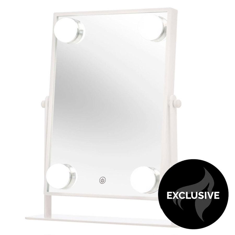 Shelas 4 Led Hollywood Mirror 181 x 285 mm - White
