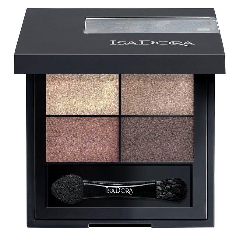 IsaDora Eyeshadow Quartet 10 Boho Browns 3,5g