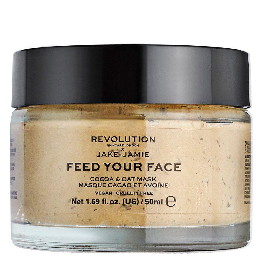 Revolution Skincare x Jake-Jamie Cocoa & Oat Moisturising Face Mask 50 ml