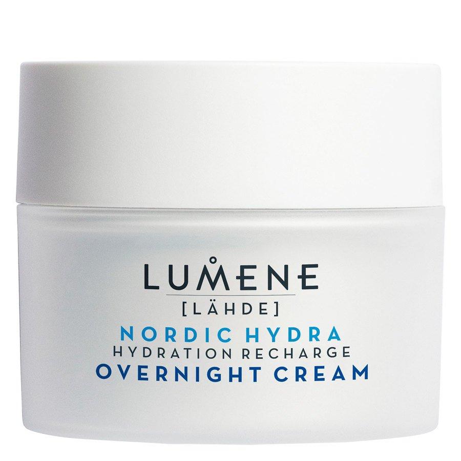 Lumene Nordic Hydra LÄHDE Hydration Recharge Overnight Cream 50ml
