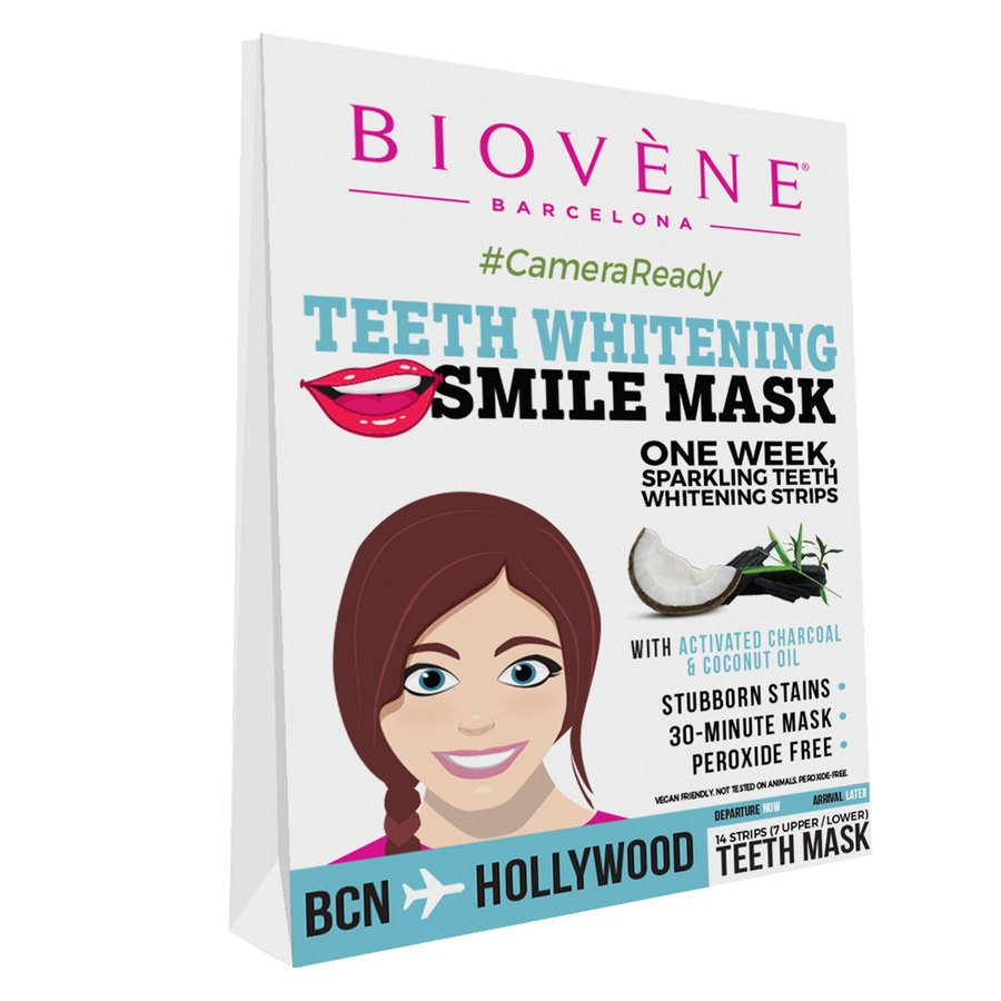 Biovène Teeth Whitening Smile Mask Strips 14 kpl