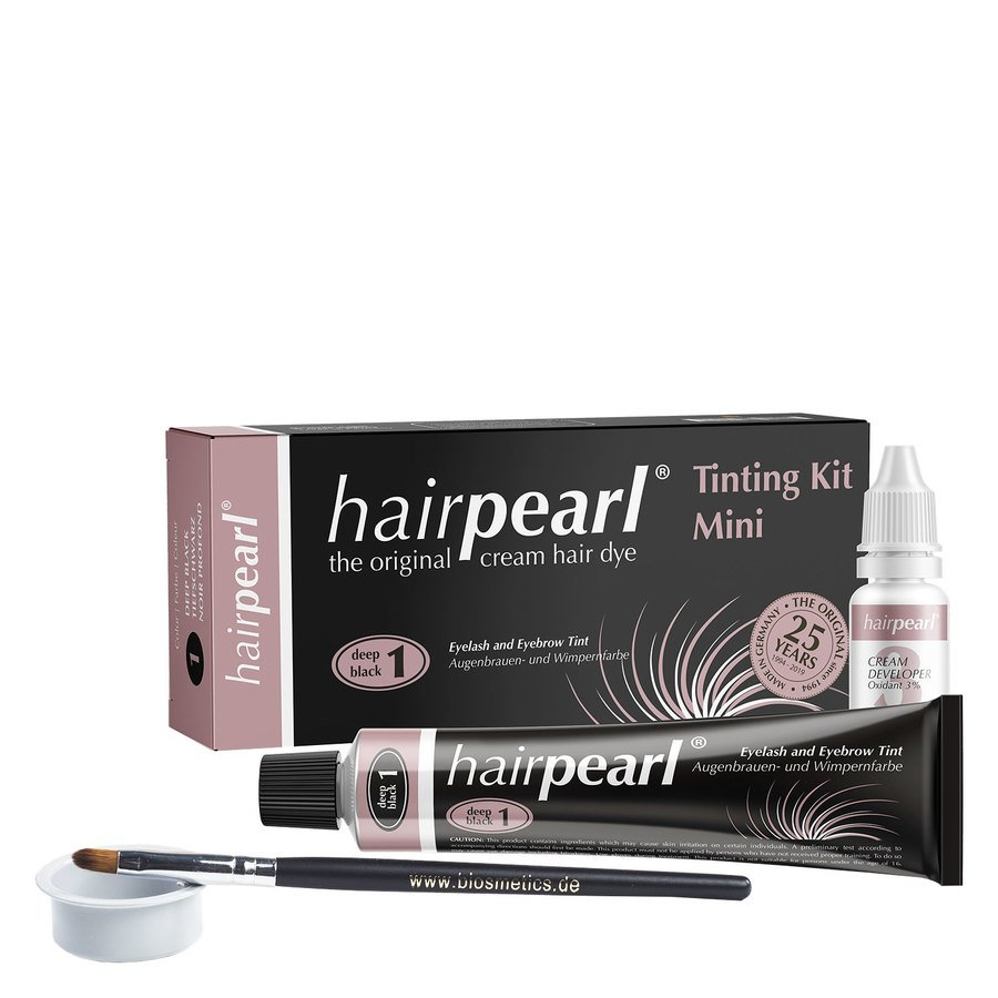 Hairpearl Tinting Kit – Deep Black