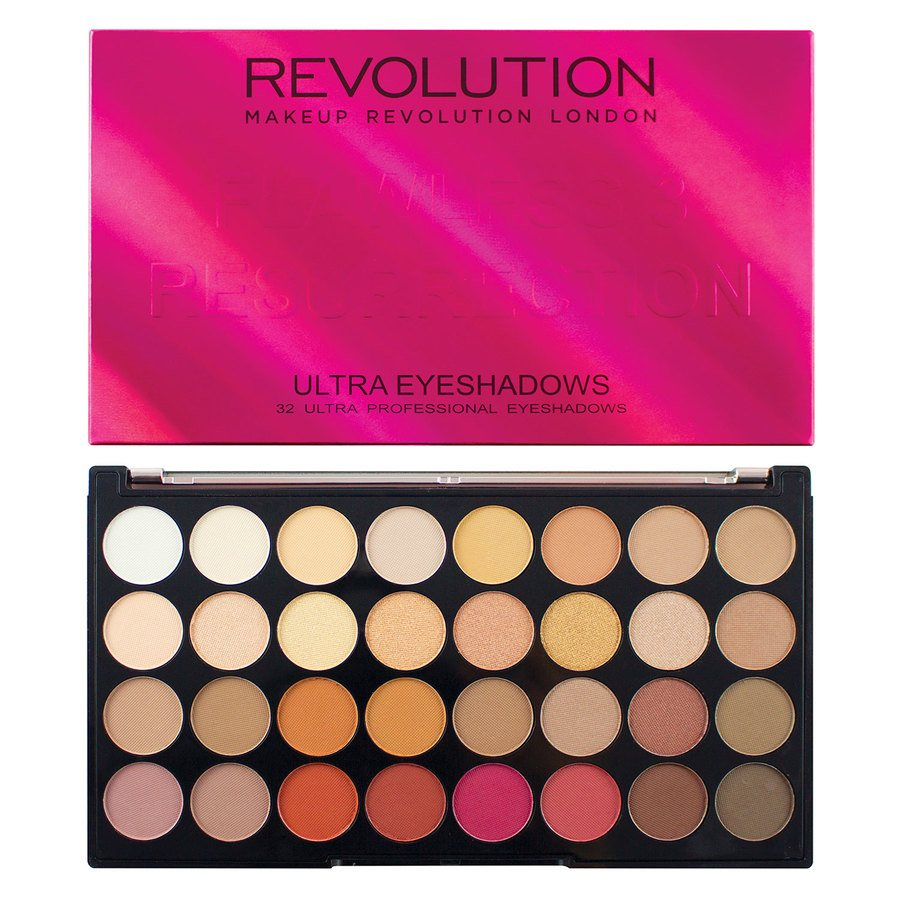 Makeup Revolution Ultra 32 Shade Eyeshadow Palette – Flawless 3 Resurrection 20g