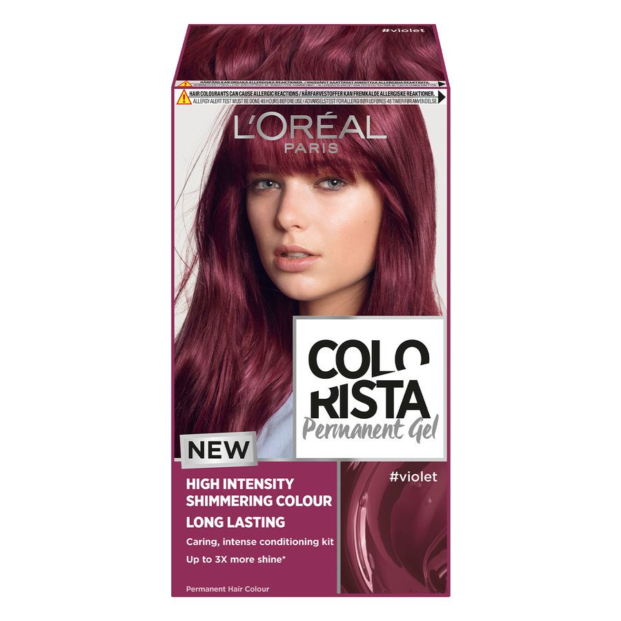 L'Oréal Paris Colorista Permanent Gel ─ Violet