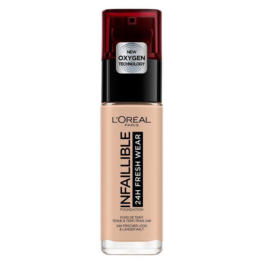 L'Oréal Paris Infaillible 24H Fresh Wear Foundation 30 ml - #110 Rose Vanilla
