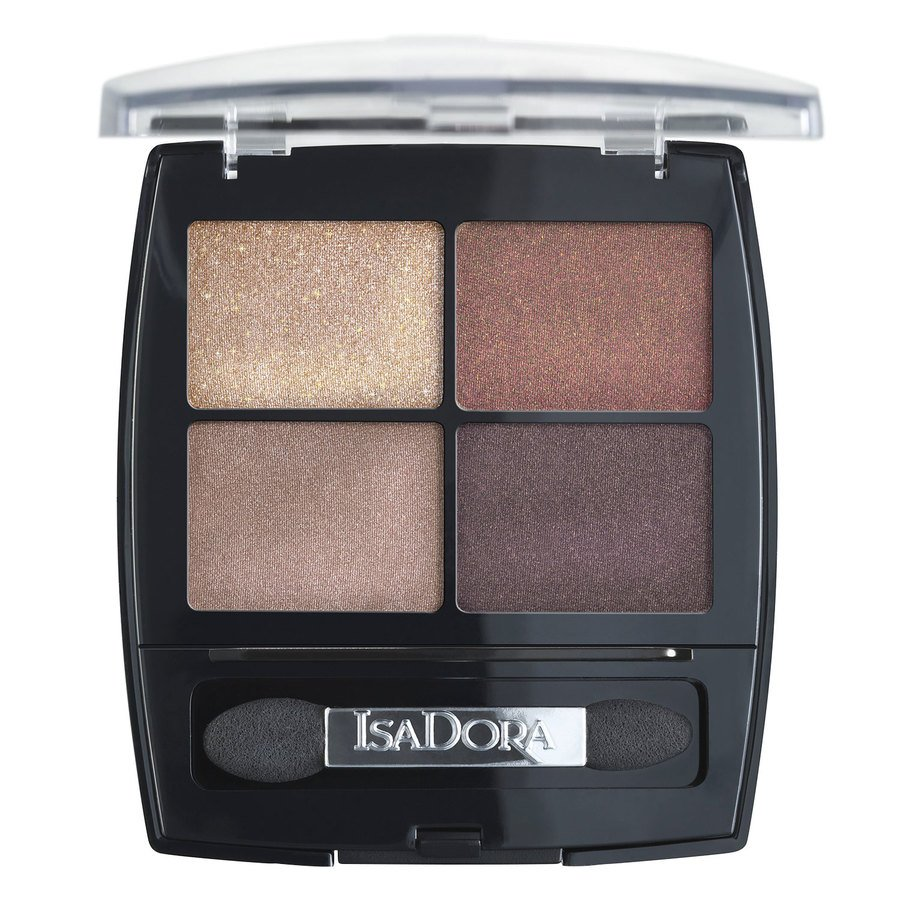 IsaDora Eyeshadow Quartet 5 g ─ #18 Boho Browns