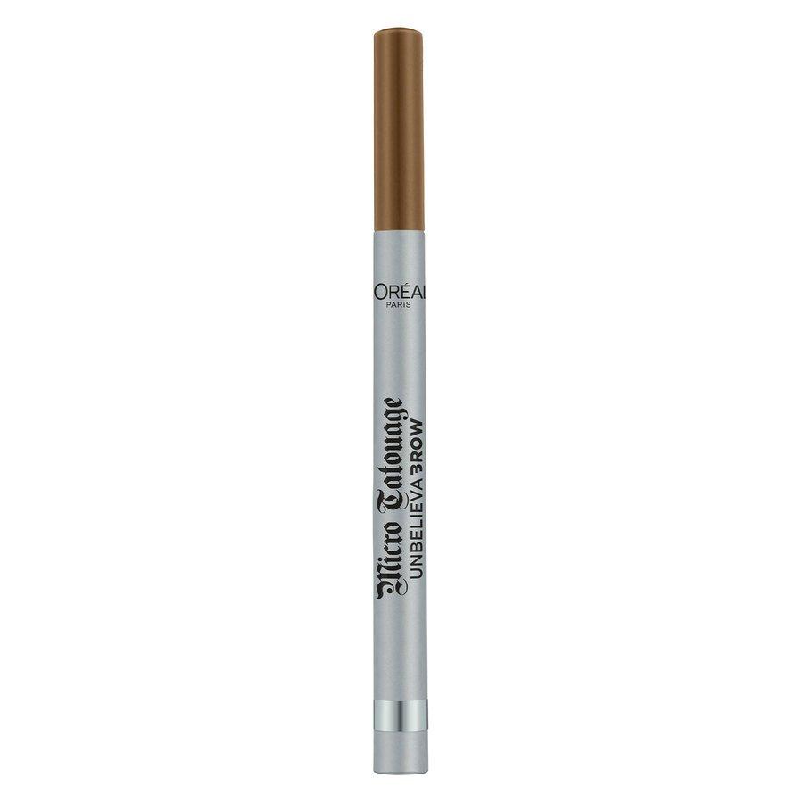 L'Oréal Paris Unbelieva'Brow Micro Tatouage 1 g – Chatain