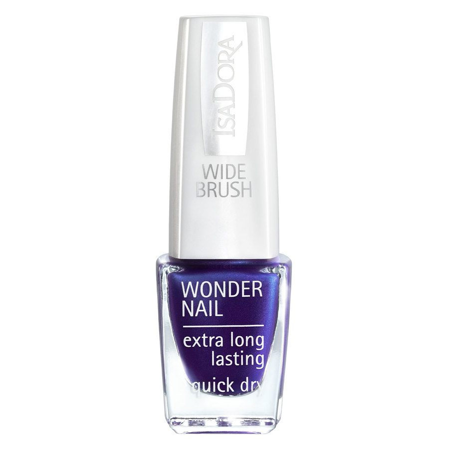 IsaDora Wonder Nail Wide Brush 6 ml ─ #570 Posh Purple