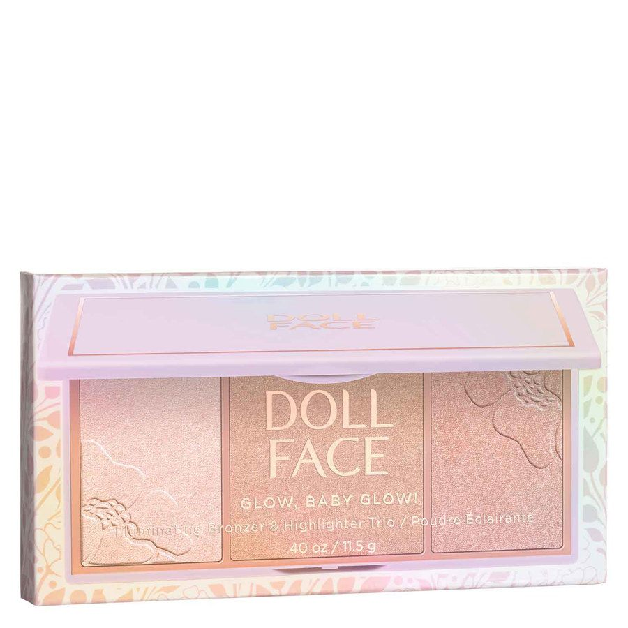 Doll Face Glow, Baby, Glow 3 Shade Glow/Highlighter 11 g ─ Hollywood Halo