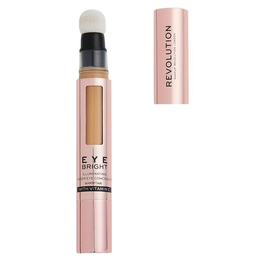 Revolution Beauty Eye Bright Illuminating Under Eye Concealer - Warm Tan  2,9 ml