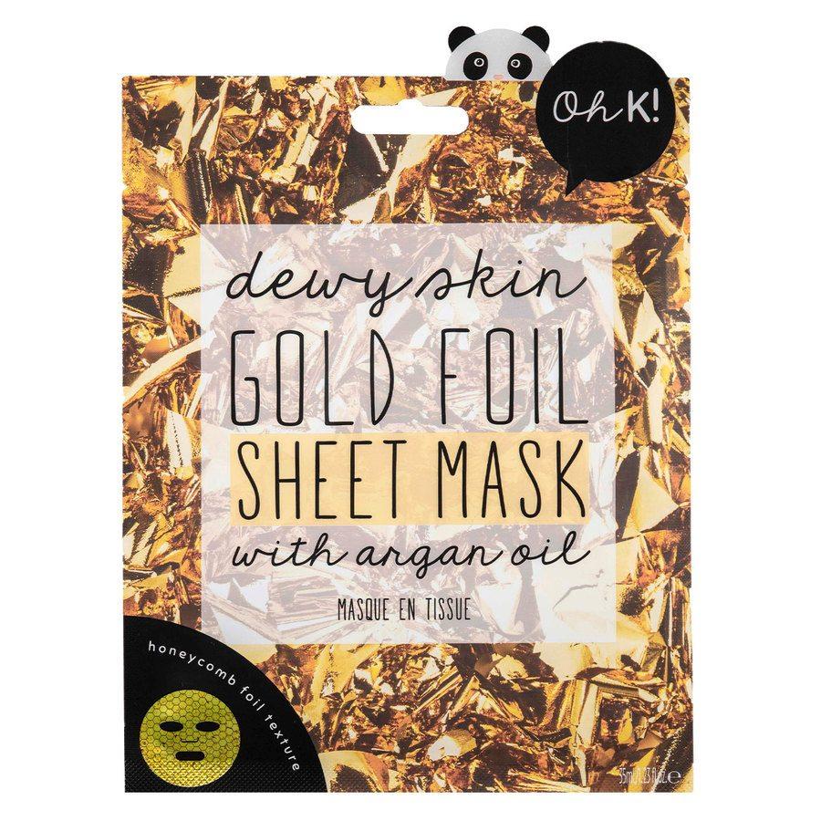 Oh K! Gold Foil Sheet Mask 35 ml