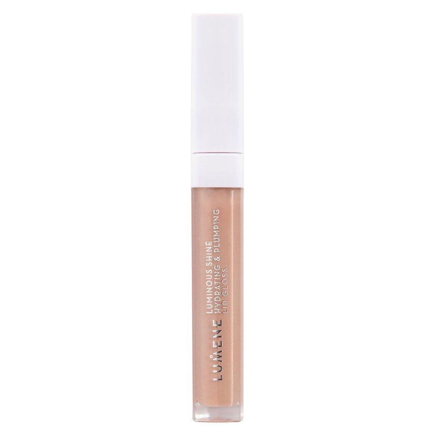 Lumene Shine Hydrating & Plumping Lip Gloss 1 Pale Honey 5ml